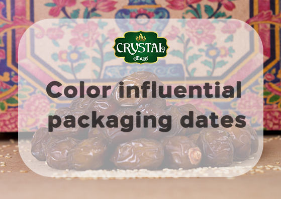 Color influential packaging dates
