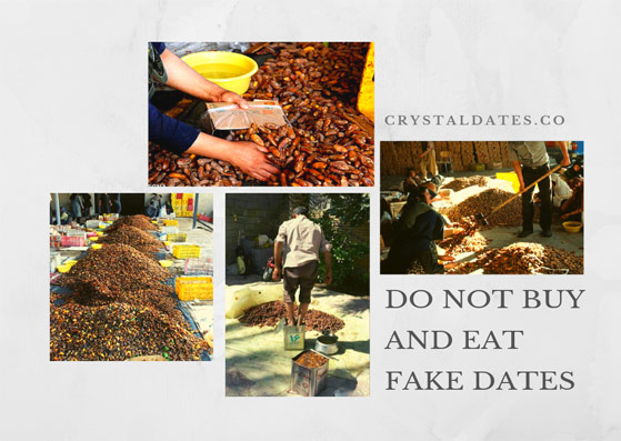 Do not buy and eat fake Dates