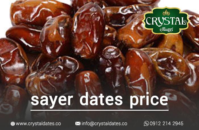 sayer dates price crystal