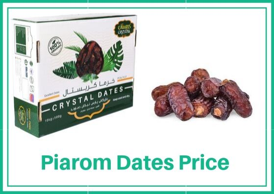 Piarom Dates Price