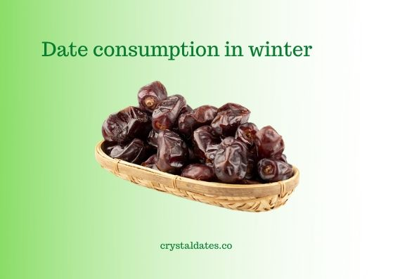 Date consumption in winter