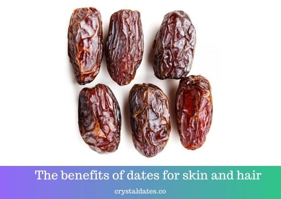 The benefits of dates for skin and hair