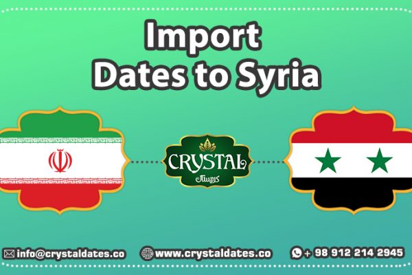 Import Dates to Syria