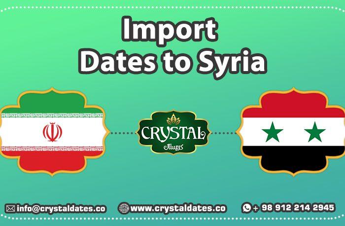 Import Dates to Syria