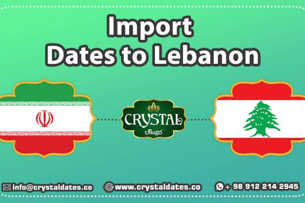 Import dates to Lebanon