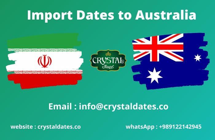 Import Dates to Australia
