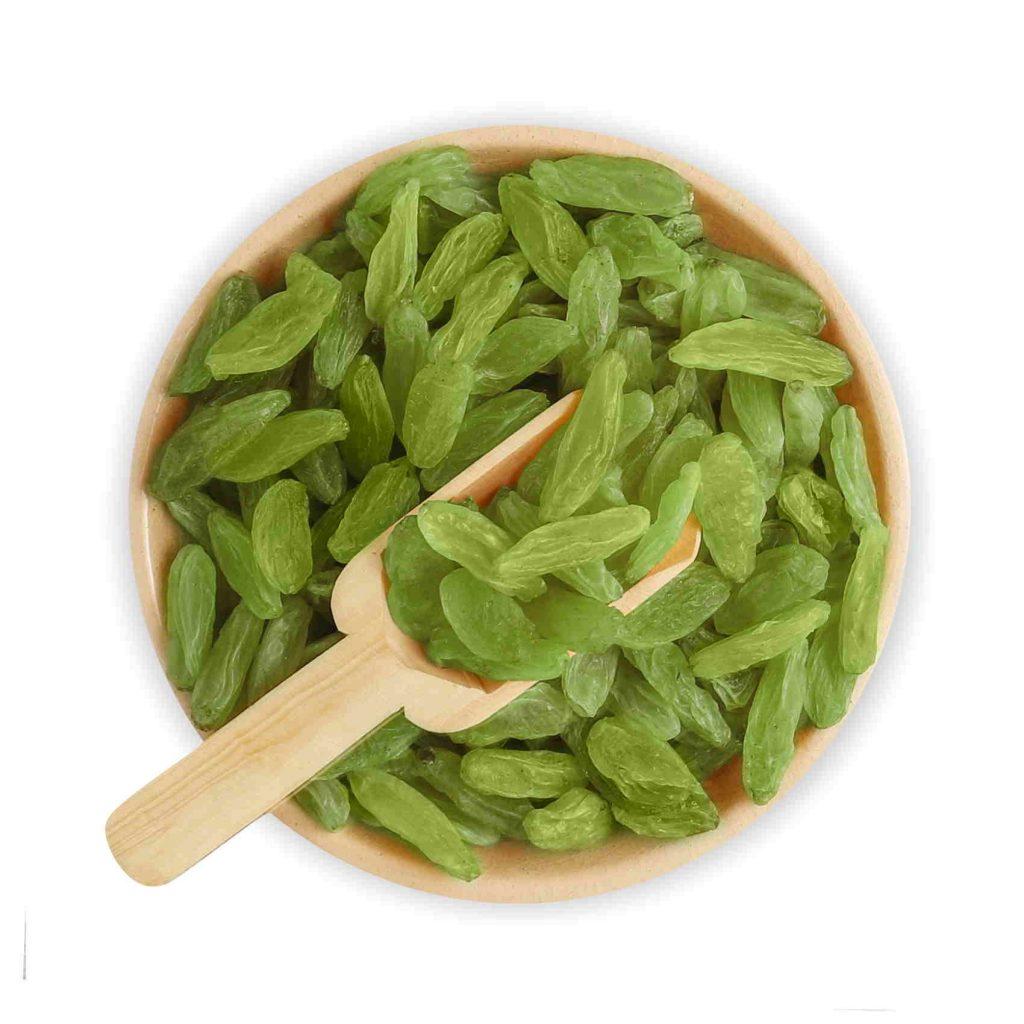 long green raisin