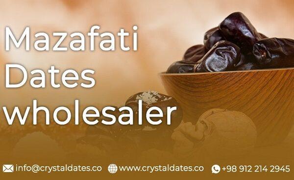 Mazafati dates wholesaler Crystal dates company 1