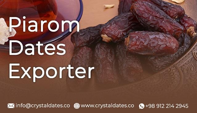 Piarom dates exporter