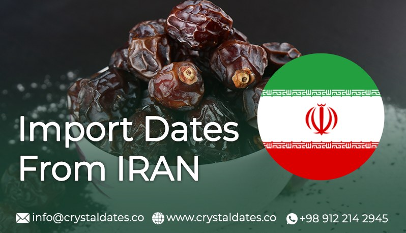 import dates from iran crystal company